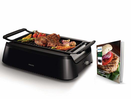 Philips HD6371/90 rauchfreier Grill