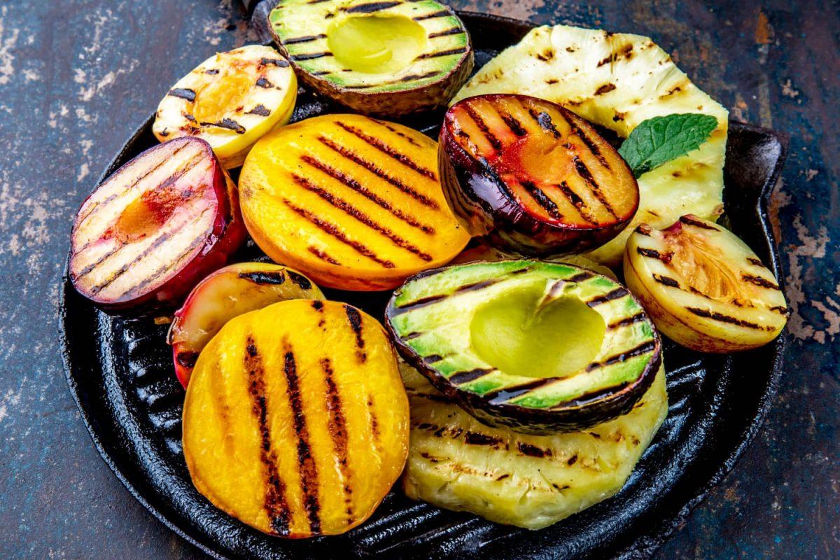 Obst grillen: Grillobst als Nachtisch vom Grill